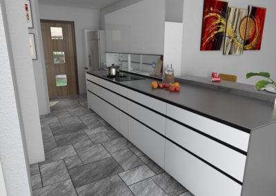 Cucina Valcucine- ARTEMATICA con elemento New Logica System